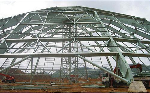 Gia công kết cấu thép ngành xây dựng