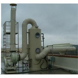 Bồn tháp xử lí khí thải