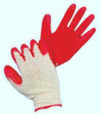 Găng tay len phủ cao su
