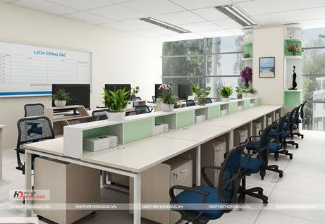 Nội thất văn phòng Đài truyền hình Thanh Hoá