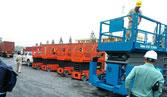 Xe nâng hàng cắt kéo điện 6m - 18m