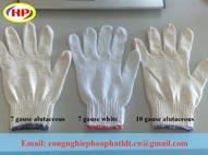 Găng tay sợi vải cotton