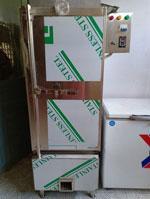 Tủ cơm 50kg dùng điện gas