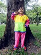 áo mưa bộ trẻ em