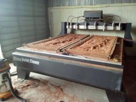 Máy đục gỗ vi tính 3D 8 trục