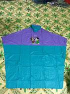 áo choàng trẻ em pha màu