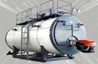 Lò hơi đốt dầu 3 tấn