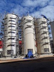 Hệ thống bồn công nghiệp lớn