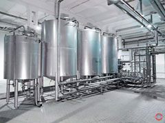 Hệ thống bồn công nghiệp nhỏ