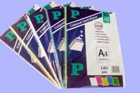 Bìa thái A4 P paper (5 màu)