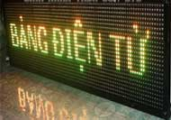 Bảng điện tử đèn Led