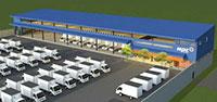 Nhà thép showroom KPH MPC Logistics