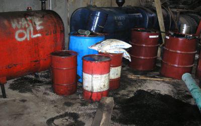 Thu gom tái chế dầu mỡ