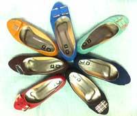 Giày búp bê đế thấp
