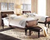 Giường gỗ trần bì