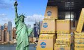 Gửi hàng thực phẩm đi Mỹ