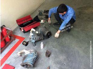 Sửa chữa máy nén khí Piston Hitachi