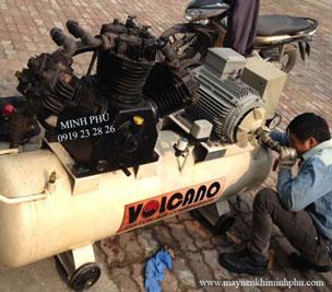 Sửa chữa máy nén khí Piston Volcano