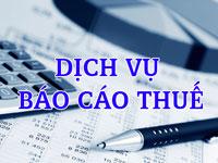 Báo cáo thuế hàng năm trọn gói