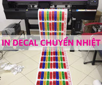 In Decal chuyển nhiệt