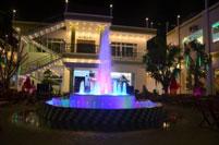 Đài phun nước ánh sáng