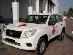 Xe cứu thương Toyota Prado
