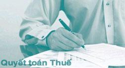 Quyết toán thuế