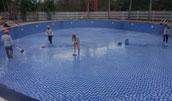 Thi công bể bơi công cộng