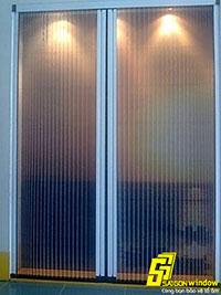 Cửa lưới xếp không ray