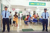 Dịch vụ bảo vệ bệnh viện