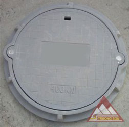 Nắp hố ga composite khung tròn