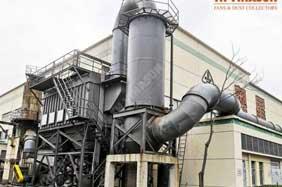 Dự án xử lí bụi nhà máy tôn Hoa Sen