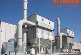 Dự án xử lí bụi nhà máy gạch Viglacera