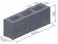 Gạch bê tông 3 lỗ TET