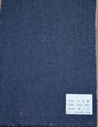Vải jean 10x10