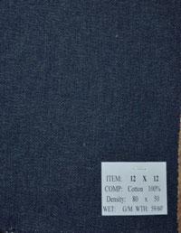 Vải jean 12x12