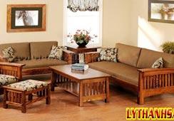 Bàn ghế gỗ