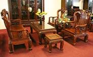 Công trình bàn ghế gỗ
