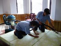 Dịch vụ giặt nệm ghế sofa