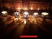 Đèn gáo dừa