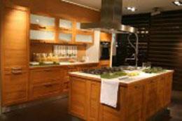 Tủ bếp gỗ dẻ gai