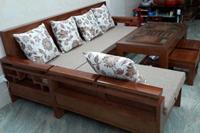 Bàn ghế gỗ phòng khách