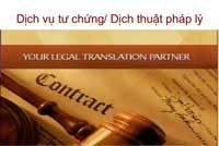 Dịch thuật pháp lý