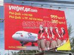 Bảng hiệu quảng cáo tấm lớn