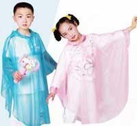 áo mưa viền trẻ em mỏng