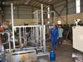 Chế tạo máy gấp thùng