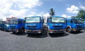 Xe tải vận chuyển Bắc Trung Nam