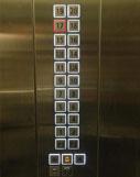 Nút thang máy