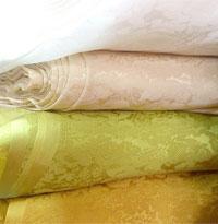 Vải lụa tơ tằm Zakka