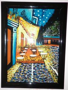 Tranh Sơn Mài Cafe Phố